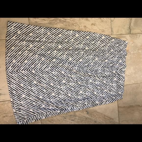 J. Jill Dresses & Skirts - JJill stretch cotton skirt